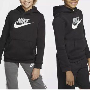 Nike Kids Unisex pullover hoodie black Size XL